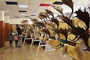 Votická výstava trofejí myslivců z okresu Benešov.