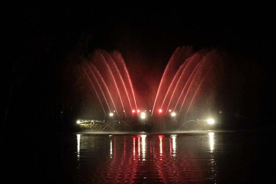 Ratměřická hasičská fontána 2021.