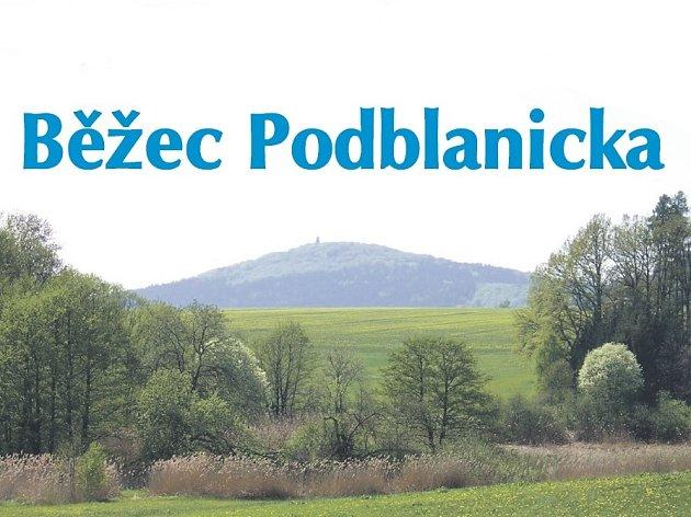 Plakát série Běžec Podblanicka.