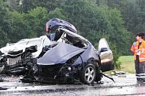 Tragická nehoda u Radošovic.