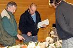 Výstava hub je otevřená v pátek, sobotu a v neděli od 10 do 16 hodin.