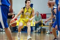 Benešovský basketbalista Jiří Kysela.