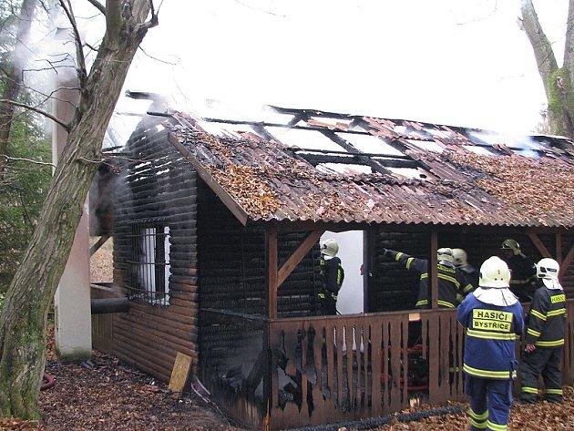 Požáry od kamen či komínů vznikají častěji u málo využívaných objektů.