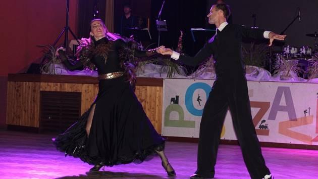 Na plese Posázaví si přítomní užili kulturní program i volnou zábavu.
