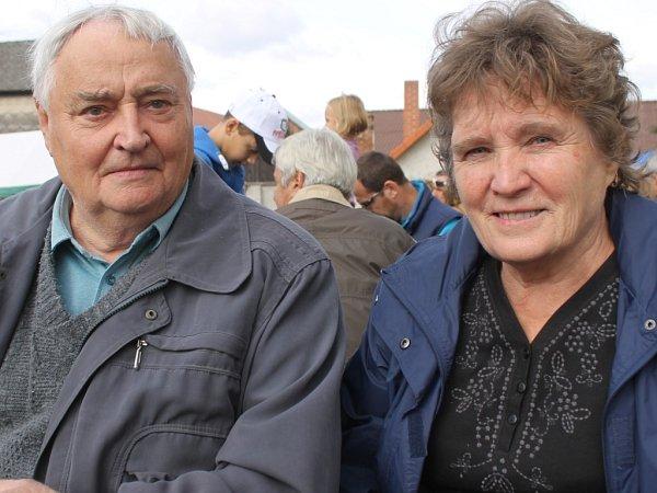 Bohumil a Alena Štěpánkovi.