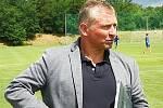 Roman Veselý, trenér třetiligových fotbalistů SK Benešov.