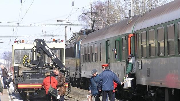 Po zprovoznění železničního koridoru do roku 2020 pojedou vlaky po jiné trase.