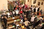 Koncert ve Vysokém Újezdu se konal v sobotu 23. prosince.
