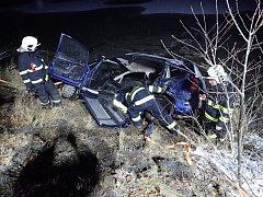 Nehoda v Bystřice.
