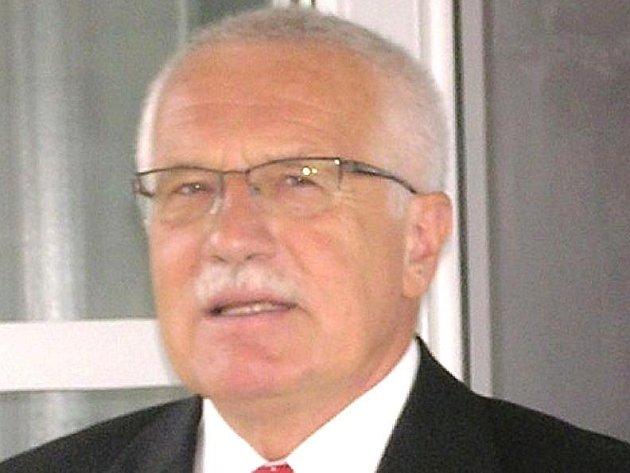 Prezident Václav Klaus není na Monínci poprvé. U nedalekých Sudoměřic má chalupu.
