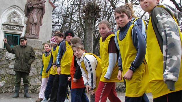 Na startu kategorie žáků na 800 metrů