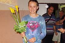 Valentýna Přibylová se stala atletkou roku 2014 v oddíle Spartak Vlašim a i novém roce předvádí parádní výkony.