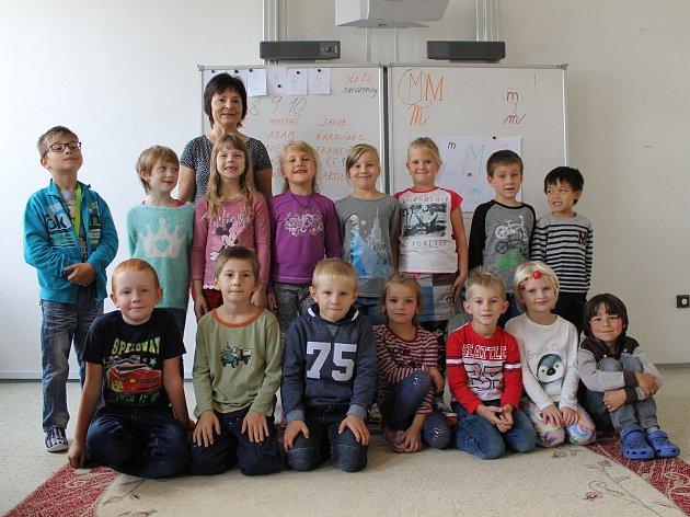 ZŠ Čechtice, 1.B střídní učitelkou