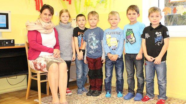 ZŠ a MŠ Křečovice třídní učitelka Veronika Weinerová.