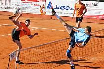 Momentka z extraligového utkání Šacungu Benešov s vicemistrem z pražských Čakovic.