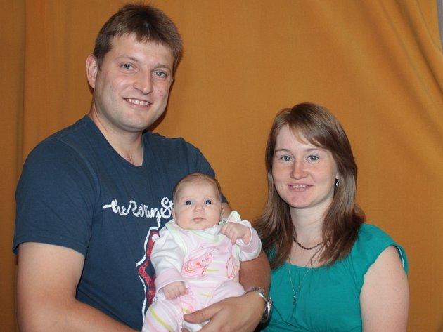 Rodina malé Terezky Votrubové v reakci Benešovského deníku.