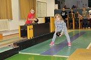 Kuželkárnu v Benešově využívají pro soutěžení také kroužky Domu dětí a mládeže Benešov.
