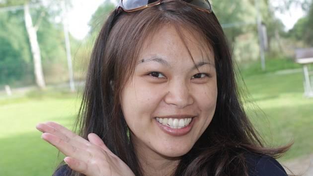 Devětadvacetiletá  Tchajwanka Li-Yin Lu.