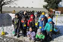 Zimní olympiáda v podání MŠ Berušky.