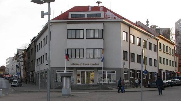 Radnice ve Vlašimi.