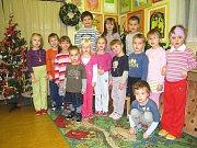 Andělíčky z břízy a vánoční stromečky nazdobily děti ve školní družině ZŠ Jiráskova