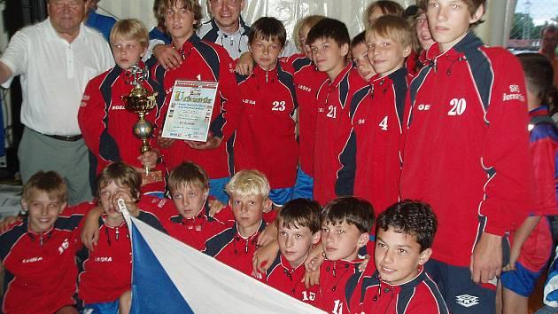 Z Rakouska si mladí Vlašimáci přivezli vítězství v turnaji.