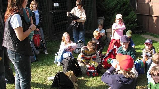 Den otevřených dveří ve stanici pro zraněná zvířata v Ochraně fauny Votice.