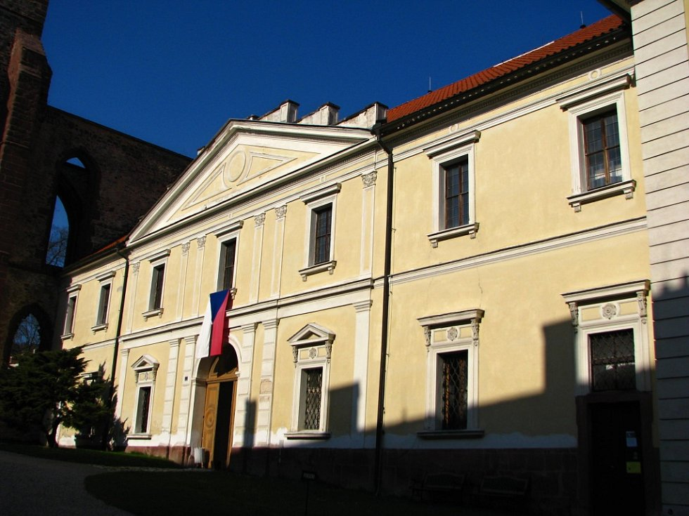 Klášter v Sázavě.