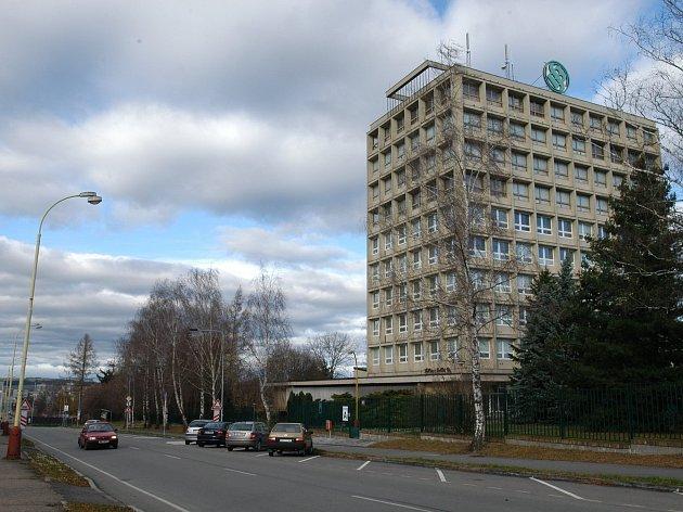 Administrativní budova vlašimské zbrojovky Sellier & Bellot v Lidické ulici.