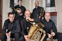Na letošním vánočním koncertě ve Vranově vystoupí také žesťové kvinteto Brass Five.