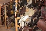 V muzeu ve Vysoké Lhotě uvidí návštěvníci třeba sedlo z pohádky Tři oříšky pro Popelku.