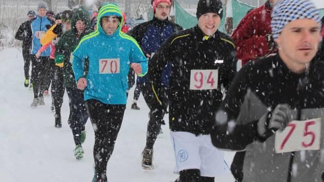 Na start patnáctého ročníku běhu na Čerčanský chlum se vydala bezmála stovka běžců všech věkových kategorií.