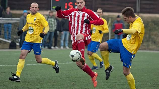 Benešov doma prohrál se Štěchovicemi nejtěsnějším rozdílem.
