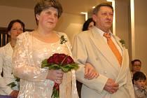 V pátek 23. března si řekli ano Marie Muzikantová a Karel Babický z Čerčan.