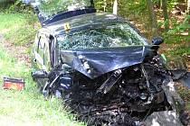 Pondělní nehoda se stala po poledni, v době největšího žáru.
