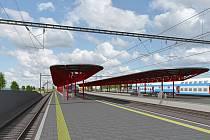 Pro cestující v Hostivaři je v provozu zatím první ostrovní nástupiště.