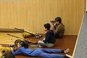 Soutěž ve střelbě ze vzduchové pušky pro děti i jejich rodiče.