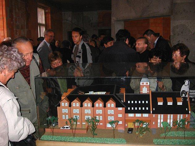 Exkurze se zúčastnilo spoustu návštěvníků