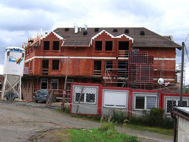 Celkový pohled na budovu hospicu