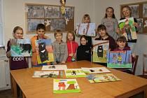 Obrázky medvěda Jiřího skončí ve výstavní síni DDM Benešov.