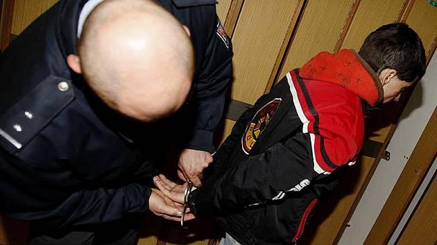 Zloději skončili v poutech. Ilustrační foto.