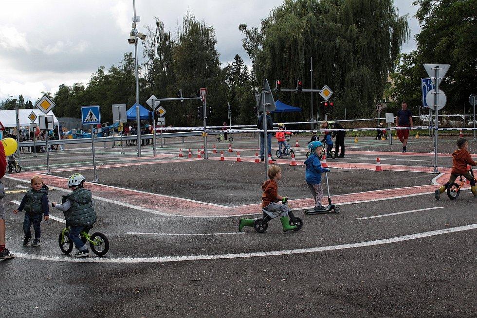 Z Rodinného dopoledne s IZS v Benešově 28. srpna 2021.