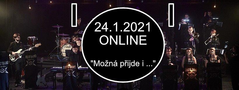 Úderem 19. hodiny vypukne v neděli online koncert Big'O'Bandu, který si tentokrát k sobě na pódium pozval ještě své přátele.