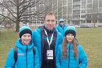 Na Olympiádě dětí a mládeže zastupoval v taneční soutěži Středočeský kraj benešovský pár Adam Slepička a Jana Klápová.