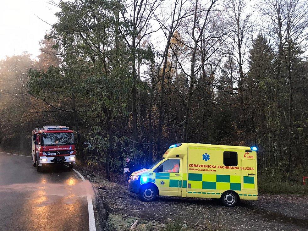Dopravní nehoda u Tehova.