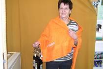 Jiřina Žížalová zvítězila v 1. kole Zimní Tipsport ligy BND a získala osušku od sázkové kanceláře Tipsport a dárkové balení pěnivého moku od pivovaru Ferdinand Benešov.