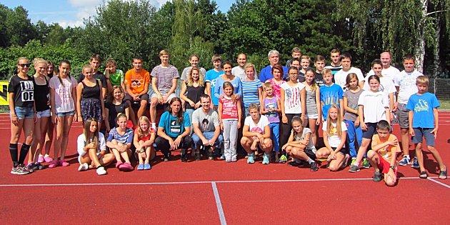 Na atletické soustředění atletů Vlašimi dorazila početná výprava v počtu 43.