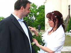 Svatba Pražanů Pavly Přibylové a Lukáše Tykala.