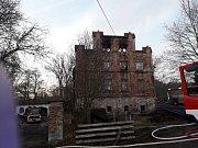 V Zápech vyhořel bývalý mlýn, škody přesáhly 20 milionů