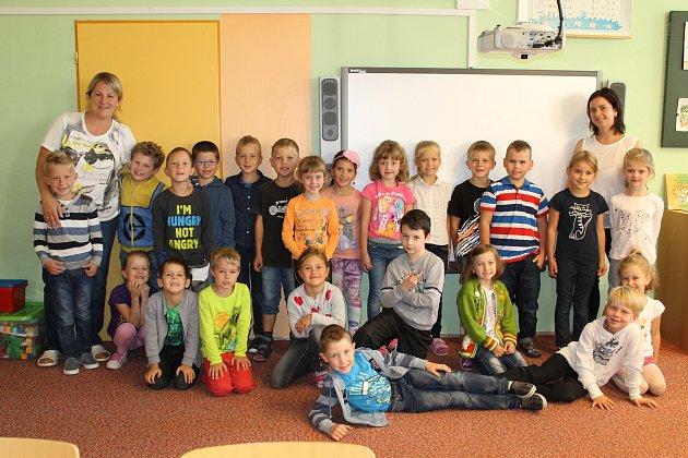 ZŠ Dukelská Benešov, 1.D třídní učitelka Monika Břínková a asistentka Denisa Mertová